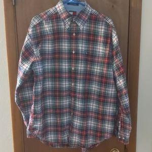 Vintage Men's Tommy Hilfiger Long Sleeve Sz L